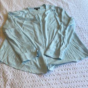 Tops - Express portofino blouse no collar